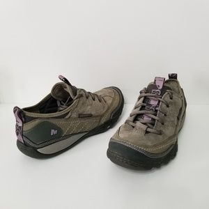Merrell Mimosa lace shoes dusty olive size 7